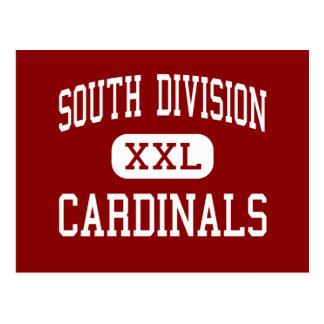 South Division - Cardinals - High - Milwaukee Postcard