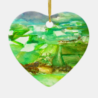 south downs ceramic heart decoration