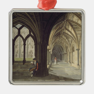 South East Angle of the Cloisters, plate T from 'W Christmas Ornament