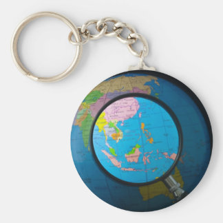 South east Asia in focus Key Ring