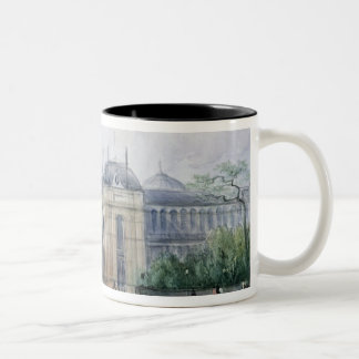 South-east Aspect of the 1862 Exhibition Two-Tone Coffee Mug