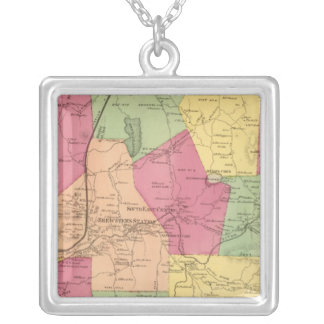 South East, Town Silver Plated Necklace