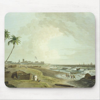 South East View of Fort St. George, Madras, plate Mouse Pad