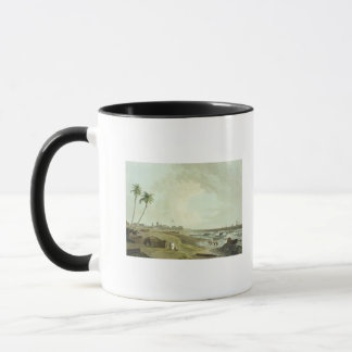 South East View of Fort St. George, Madras, plate Mug