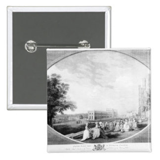 South East view of Windsor Castle Pinback Buttons