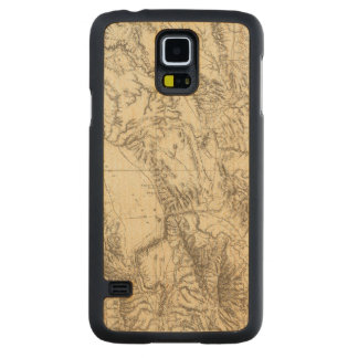South Eastern Idaho Carved Maple Galaxy S5 Case