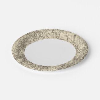 South Eastern Idaho Paper Plate