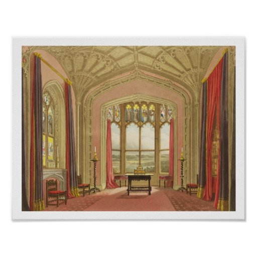 South End of St. Michael's Gallery, from 'Graphic Print