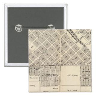 South Fresno, California 15 Cm Square Badge