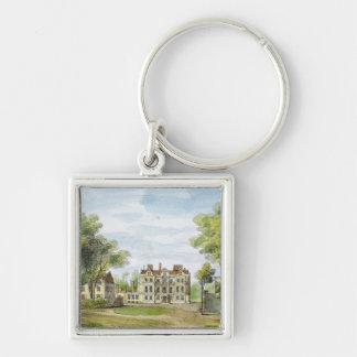 South Front, Old Palace, Kew Gardens, plate 2 from Silver-Colored Square Key Ring