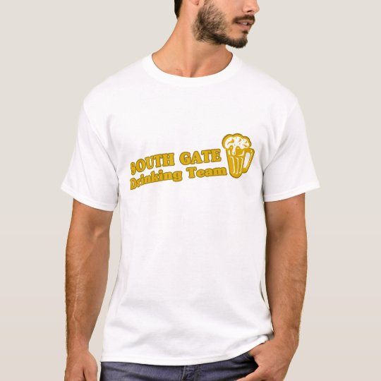 South Gate Drinking Team tee shirts