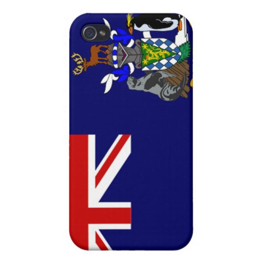 South Georgia and South Sandwich Islands Flag iPhone 4/4S Case