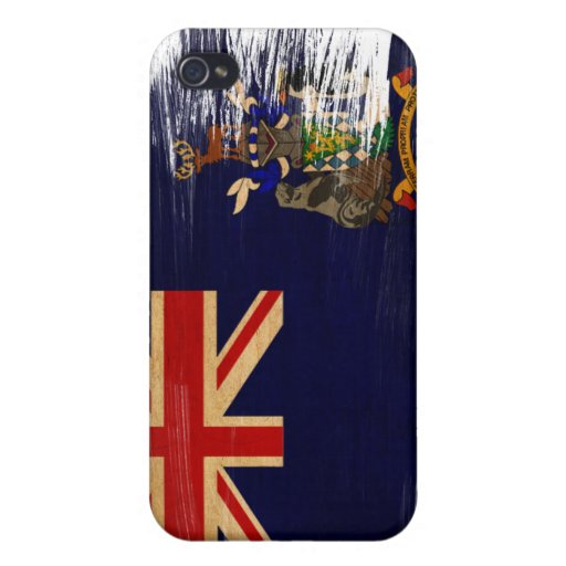 South Georgia and South Sandwich Islands Flag iPhone 4/4S Cover
