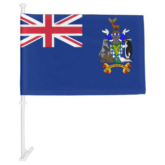 South Georgia and the South Sandwich Islands flag Car Flag