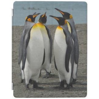 South Georgia. Saint Andrews. King penguins 8 iPad Cover