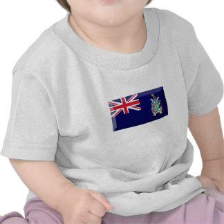South Georgia & South Sandwich Islands Flag Jewel Tee Shirt