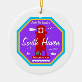 South Haven Christmas Ornament