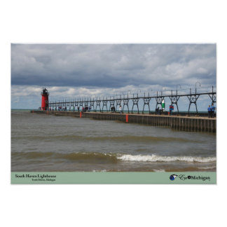 South Haven Lighthouse - Michigan Poster
