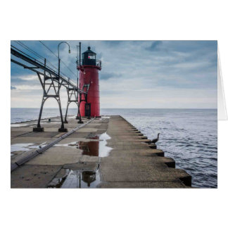 South Haven Lighthouse Notecard Note Card