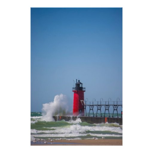 South Haven Lighthouse Photo Print