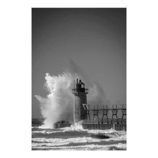 South Haven Lighthouse Art Photo