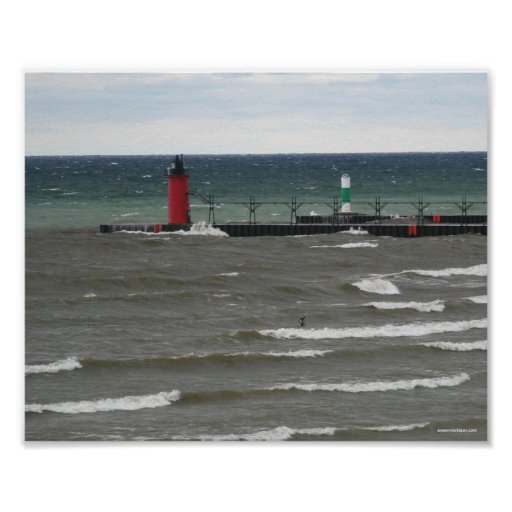 South Haven Lighthouse Posters
