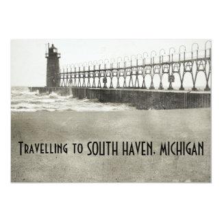 South Haven Michigan 13 Cm X 18 Cm Invitation Card