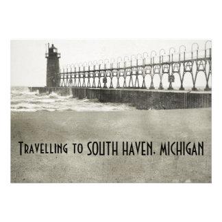 South Haven Michigan Personalized Invitations