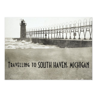 South Haven Michigan 13 Cm X 18 Cm Invitation Card