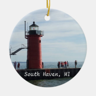 South Haven Michigan Lighthouse Ornament
