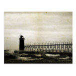 South Haven Michigan Lighthouse Post Card
