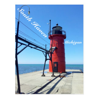 South Haven Michigan Postcard