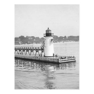 South Haven South Pierhead Lighthouse Postcard