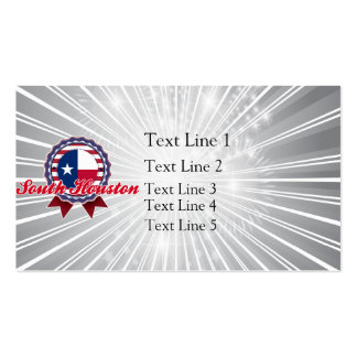 South Houston, TX Business Card Templates