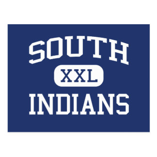 South Indians Middle School Seneca Wisconsin Postcard