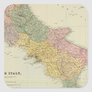 South Italy 2 Square Sticker