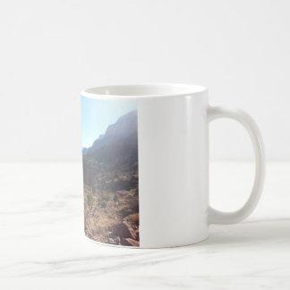 South Kiabab Grand Canyon National Park Mule Ride Basic White Mug