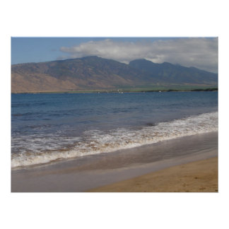 South Kihei, Maui, Hawaii Poster