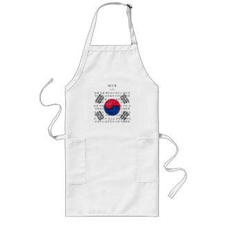 South Korea - 애국가 Long Apron