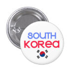 South Korea and a (south korean flag) Pin