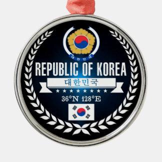 South Korea Christmas Ornament