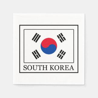 South Korea Disposable Serviettes