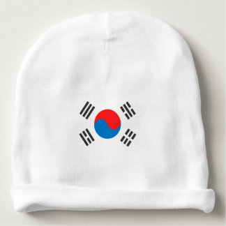 South Korea Flag Baby Beanie