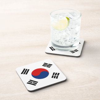 South Korea Flag Coaster