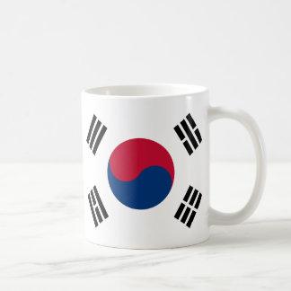 South Korea Flag Coffee Mugs