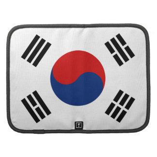 South Korea Flag Folio Organizer