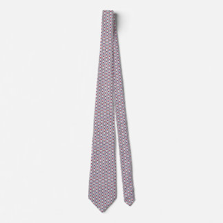South Korea Flag Honeycomb Tie