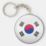 South Korea Flag Keychain