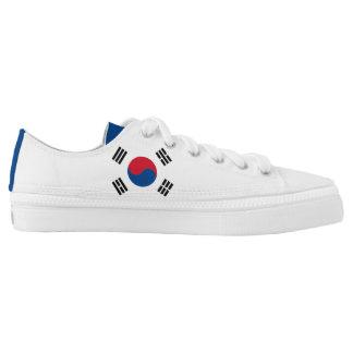 South Korea Flag Low Tops
