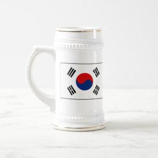 South Korea Flag Map Mug